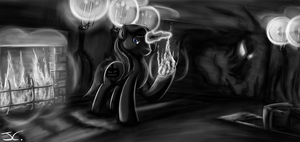 Fanart - MLP. What a Night for a Fright by jamescorck