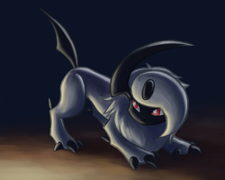 Absol Recoloured by Rabid-Fangirl212