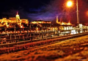 HDR Budapest night by jdesigns79
