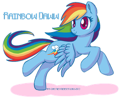 Rainbow Daww by CaaLoba