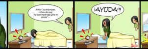 Living with Hipstergirl and Gamergirl #106 by JagoDibuja