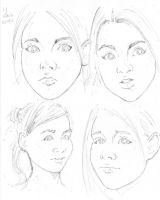 Four slightly different girls by Neumatic