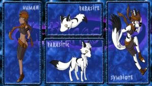 Z-Parasites Application: Meglin and Daris by Popokino