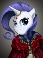 Rarity potrait by saturnspace