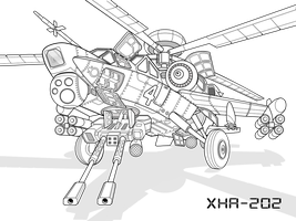 Helicopter XHA-202 by vpRaptor