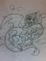 Discord is best pony.. snake. goat. lizard. thingy by ExtoPlasma