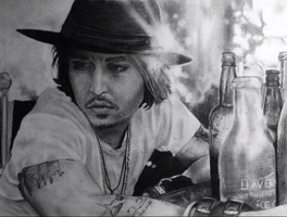 Johnny Depp by Stylo-I