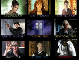 Doctor Who Alignment by DarkEpicAngel