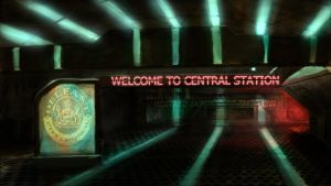 welcome to central station 'entrance' by daltonarts