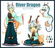 River Dragon Auction (Closed) by AQUA-Bunni