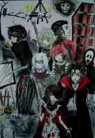 Halloween Event p2 Cover THE UNDEAD_VAMPIRES_HEART by ha-kim