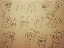 Twinkle Toes sketch dump by AleximusPrime