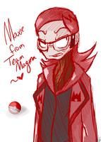 Maxie from Team Magma by ACLuigiYoshi