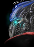 Optimus Prime by Natini