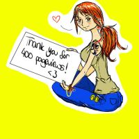 Thank u for 400 pageviews! by Drawer1000