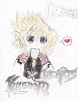 Roxas request by iceyhoney