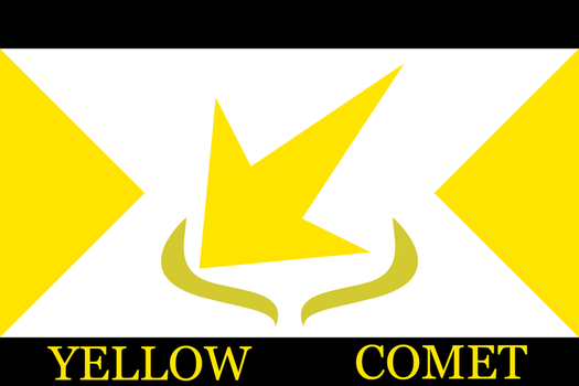 Yellow Comet Flag by AceRacer