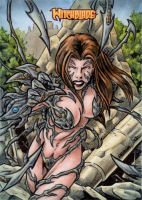 Witchblade Sketch Card 2 by tonyperna