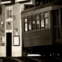 Square Trams 1 by nigel-h