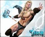 The Mighty Thor - Fantasy re-imagination by Biako06