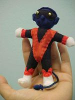 Nightcrawler voodoo doll by Lil-Hawk