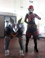 Monsoon and Blade Wolf at Otakon! by ProVoltageCosplay