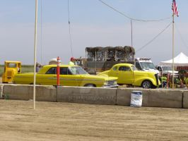 Two Yellow Cars by Jetster1