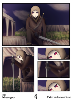 The Messengers pg 4 by Exilender
