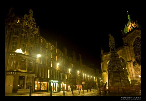 Royal Mille - St. Giles by KaFKa-FX