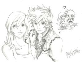[GIFT] Duo - Roxas and Namine by ControlledByGeass