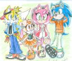 Sonic WITH CLOTHES!!! by Moon-Lights-Freedom