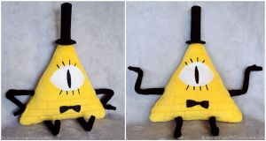 Bill Cipher Plush by ButtercupBabyPPG