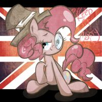 British Pinkie Pie by strabArybrick