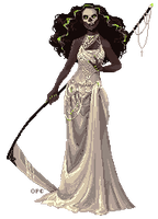 Glam Reaper - Pixel by FionaCreates