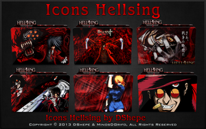 Carpetas Hellsing by DShepe 2013 by DShepe