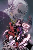 Deadpool: Dracula's Gauntlet #7 by ReillyBrown