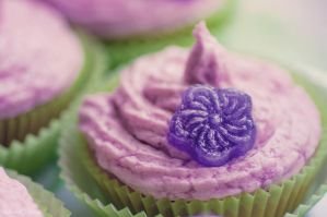 Gourmandises a la violette by Sweet-Nature