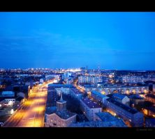 Tallinn at Night by Mandi98