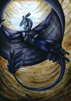 Nightfury by DragonOfSilverStars