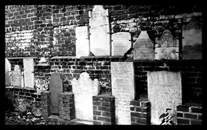 The Wall of Tombstones. by Anti-conformity