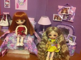 Lavender room in action 1 by Donttouchmykitty