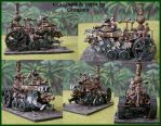 Skaven Rat steam Tank by Granamir