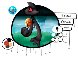 [ PKMNation ] Sasaah the Yamask by GooMama
