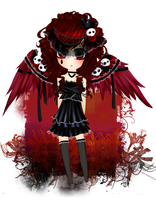 Angel of Death Adopt :CLOSED: by CrackFaery