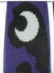 Chainmaille Inlay - Princess Luna's Cutie Mark by Xyyx-Shard