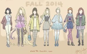 Fall 2014 Disney Fashion by Ellphie