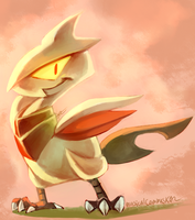 Baby Skarmory by MusicalCombusken
