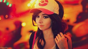 Pokemon Hilda / Touko [07] by beethy