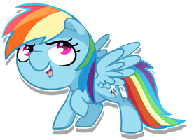 Rainbow Dash by pepooni