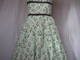Sewing Machine Dress by DustedRose
